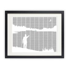 The Great Gatsby Framed Graphic Art