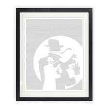 The Invisible Man Framed Graphic Art