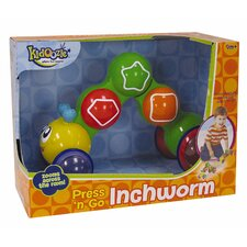 Kidoozie Press 'n Go Inch Worm