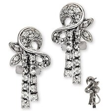 Elegant High Quality Diamond Earrings