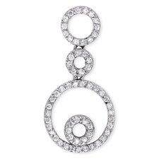 Triple Circle Diamond Pendant