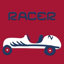 Race Car Wall Decal