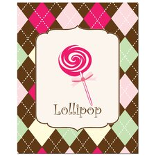 <strong>Secretly Designed</strong> Sweet Lollipop Art Print