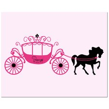 Princess Carriage Canvas Art