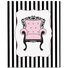 <strong>Secretly Designed</strong> Elegant Chair Art Print