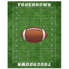 <strong>Secretly Designed</strong> Football Field Art Print