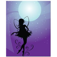<strong>Secretly Designed</strong> Fairy Moon Art Print