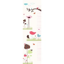 Bird Valley Growth Chart Wall Decal