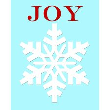 Snowflake Joy Art Print