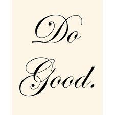 Do Good Wall Art Print