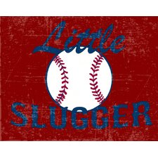 <strong>Secretly Designed</strong> Little Slugger Wall Art Print