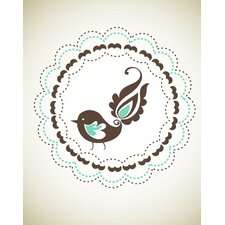 <strong>Secretly Designed</strong> Birdie Wall Art Print