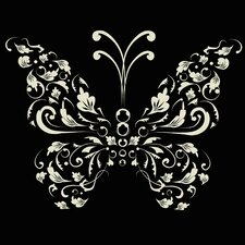 Single Butterfly Wall Art Print