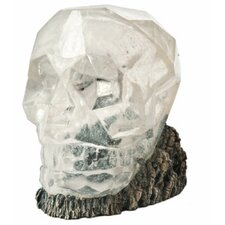 H2ShOw Lost Civilization Crystal Skull Resin Ornament