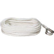 "0.375"" x 50' Nylon Twist Anchor Line"