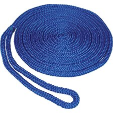 "0.375"" x 15' Double Braid MFP Dockline in Blue"