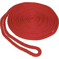 "0.375"" x 15' Double Braid MFP Dockline in Red"
