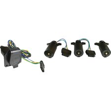 Trailer 7 to 5 Way Adapter with Cable