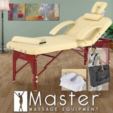 "<strong>Master Massage</strong> 30"" Spa LX Portable Massage Table in Cream"