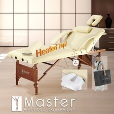 Del Ray Salon Heated Salon LX Top Massage Table