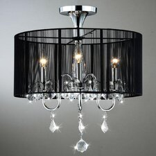 Robin 3 Light Crystal Chandelier