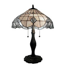 "Pearl Baroque 28"" H Table Lamp with Bowl Shade"