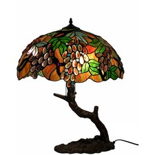 """Grape 27"""" H Table Lamp with Bowl Shade"""