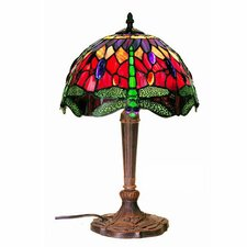 <strong>Warehouse of Tiffany</strong> Dragonfly Table Lamp
