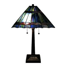"Gothique 19"" H Table Lamp with Empire Shade"