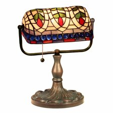 "Banker Eyes 13"" H Table Lamp"
