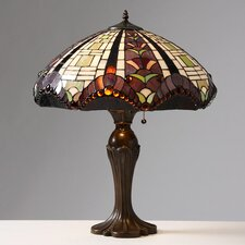 "Gothique Manor 27"" H Table Lamp with Bowl Shade"