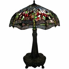 "Dragonfly 30"" H Table Lamp"