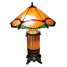Dragonfly Table Lamp with Empire Shade