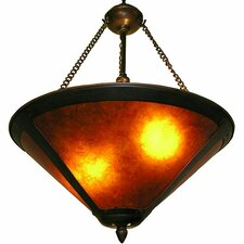 Mica Onion 2 Light Semi Flush Mount