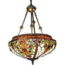 Classic 2 Light Inverted Pendant