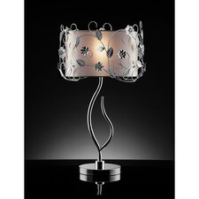 """Gardenia 30"""" H Table Lamp with Drum Shade"""