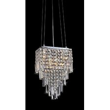Eve Beeded Crystal Chandelier