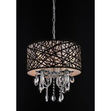 Caroline 4 Light Crystal Chandelier