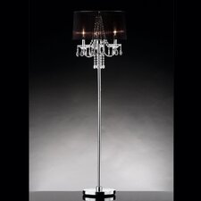 3 Light Crystal Floor Lamp