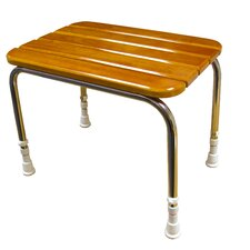 Wood Slatted Stepping Stool
