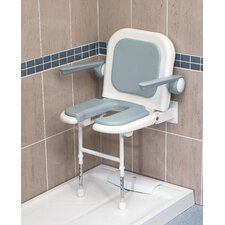 U-Shaped Padded Seat with Back and Arms