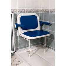 Wide Padded Seat with Back and Arms