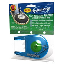 HydroForce Premium Adjustable Toilet Flapper