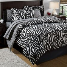 Zebra Bed in a Bag Set