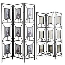 "71"" x 47.2"" 3 Panel Room Divider"