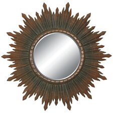 <strong>Imagination Mirrors</strong> Sunburst Splendor Wall Mirror in Dark Gold