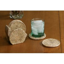 <strong>Marble Products International</strong> Fossil Coaster (Set of 6)