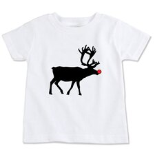Reindeer Silhouette Organic T-shirt
