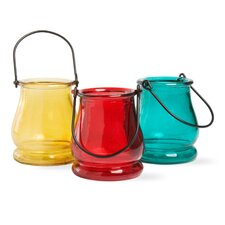 Sommers Mini Glass Lanterns (Set of 3)