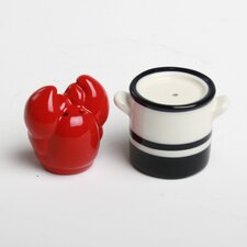 Lobster and Pot Salt and Pepper Shakers